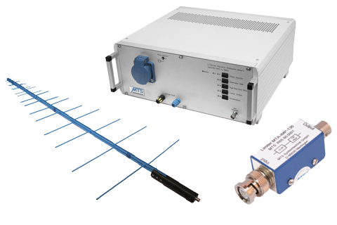 EMC / Antennas: LISN, antenna and pulse limiter