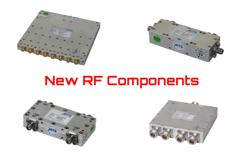 Absorptive RF Switches, Hybrid Coupler and Directional Coupler for LTE and Wi-Fi